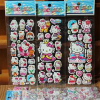 Wholesale cartoon bubble KT stickers PVC foam PET stickers PVC stickers for kids cartoon stickers Sale Seller