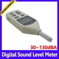 Wholesale Digital Sound Level Meter Noise Tester USB sound noise level meter