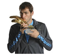 best goals - soccer football GOALKEEPER Golden Glove Award World cup best Goal keeper trophy model resin model best goalkeeper CM