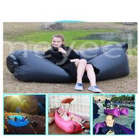 Wholesale Hot Selling Air Sofa Instantly Inflatable lamzac Hangout Lounge Chair Air Sofa sleep Bag Seconds Quick Open Sleeping Bed