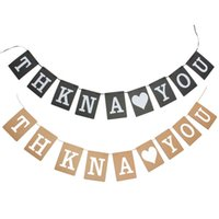 best banner design - New Stylish Best Design Vintage THANK YOU Wedding Banner Garlands Decor Photo Props Bunting Party Decoration