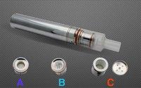 ai single - V One Ai one Kit Glass Wax Vaporizer Ceramic Disk Vape Pen Best Selling Huge Vapor Electronic Cigarettes Kit DHL free ship