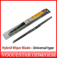 Wholesale 14 quot inch Bracketless Soft Rubber Windshield Wiper Car Windscreen Scraper Blade for Toyota Volkswagen Ford Audi ATP012