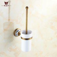Wholesale porcelain copper toilet brush manufacturers selling a European retro pendant on behalf of the new sales promotion