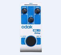 Wholesale GGEC odak DL odak New Style Guitar Effect Pedal Digital Delay guitar effects pedals OEM guitar pedal factory direct sell
