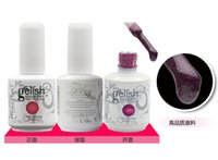 Wholesale 2016 Multi color Item Honeygril Gelish Nail Polish Soak Off Nail Gel For Salon UV Gel Color ml supply from Onlinesky