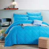 bedlinen sale - BeddingOutlet Flash Sale Bedding Set Sky Blue Bedlinen Bedspreads Luxury Double Bed Quilt Cover Queen edredones colchas