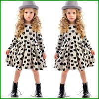 baby cat boat - tyfactory baby girl autumn dress children black cat long sleeve clothes kids casual cotton dot clothing autumn princess girls dresses