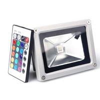 Wholesale New Fashion W LED RGB Flood Light Spotlight Lamp Bulb Outdoor Garden Home Waterproof RGB Flood