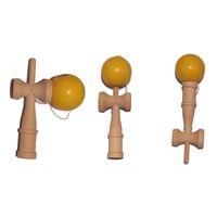 Wholesale 18 cm Big Kendama Ball Toy Wood Japanese Traditional Funny Sword Ball Game Education Toy Christmas Gift ZA1240