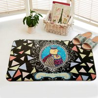 Wholesale Home creative tread mat trend carpet mats home creative tread mat bedroom mats can be customized