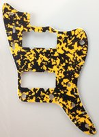 Wholesale For US Jazzmaster Guitar Pickguard Ply Yellow Tortoise