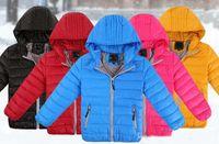 Wholesale 2016 New Kids Winter Fashion Down Jacket Fashion Baby Girls Down Coat Children s Winter Windproof Warm Winter Jackets Women Men Kids Jackets