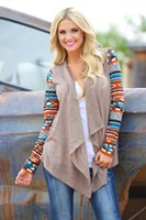 aztec print shirt - New Aztec Sleeve Women Cardigan Female Long Asymmetrical Knitted Sweater Casual Cardigans Sweaters Air Conditioning Shirts S XL