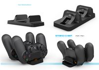 Wholesale Hot selling TP4 Dual USB Charging dock station for PS4 wireless game controller