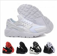 airs for sale - 2016 Cheap high quality triple AIR black white huaraches man shoes Sneakers Shoes sports shoes For online sale free shippping size