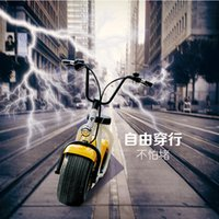 Wholesale New Fashion Cool Nice Great HD Style big wheels Electric scooter Electric Bikes DHL