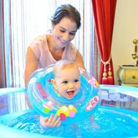 Wholesale New Arrivals Summer Baby New Born Infantable Swimming Neck Float Ring Safety Swimming Accessories Hot Cheap