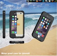 best swimmers - latest waterproof phone case for iphone iphone6s iphone6plus and iphone s plus summer swimmer best choice