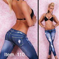 Wholesale New arrival Women Fashion Seamless Leggings denim jeggings
