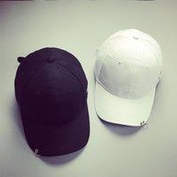 baseball hat pins - snapbacks hat adjustable hats men caps women ball caps A hoop Pin baseball cap street skateboarding hip hop cap