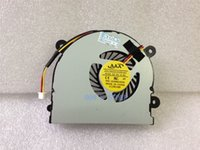 Cheap Wholesale-Laptop CPU Cooling Cooler Fan Fit For MSI S6000 X600 CLEVO 7872 C4500 MS-16D3 Radiator DFS491105MHOT Notebook DIY Replacement