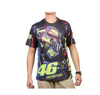 best motocross helmets - Motorcycle Motocross casual T shirt Helmet Valentino Rossi VR46 Fans Best Quality Full D Sport T Shirt