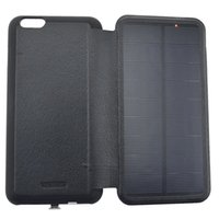 apple uk iphone case - 4200mAh Solar Power Iphone Charger Case Charging External Battery and Charger Case for iPhone6 S Plus