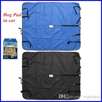 Wholesale Dog cat seat cover waterproof in car dog Cat Pet Mat Blanket Protector Travel Auto Rear Black Blue ATP022