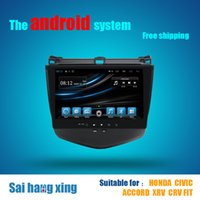 accord automotive - Android Car DVD GPS Navigation For Honda Civic Accord With WiFi Navi Radio Bluetooth Factory GB16 RAM G