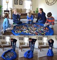 Jouets pour bébés reçoivent rapidement tapis de sac Toy Toy sacs de stockage pour style lego chaud des États-Unis Grande taille 150 cm de diamètre