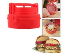 bbq hamburgers - by DHL or EMS Hamburger Burger Maker Press STUFZ BBQ ferramentas barbecue households Kitchen cooking tools