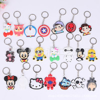 anchor manufacturers - Local environmental protection manufacturers PVC lovely Keychain creative interesting cartoon Keychain cheap