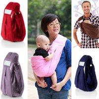 Wholesale FREE DHL Cotton Five in one Infant Kid Wrap Kid s Slings Baby Carrier Backpacks wraps Nursing Wear Nursing Cloth Breast feeding