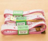 Wholesale 200pcs DHL Fedex Fast shipping quot Body Measuring Ruler Sewing Tailor Tape Measure Soft Flat Inch M