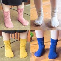 al por mayor mercancías al por mayor coreano-Calcetines de los niños Venta al por mayor de artículos de algodón Zhuo nuevos calcetines de invierno Corea del caramelo de algodón de colores pilas de calcetines