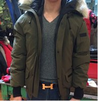 Wholesale High Quality Winter Down Jackets Bomber Canada Hooded Collar With Zippers Jacket Men Chilliwackbomber Warm Coat Outdoor Down Coats Sale