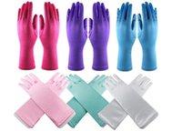 Wholesale full finger gloves for halloween Christmas party snow queen elsa gloves Elsa Cosplay Costume Snow Queen Anime gloves coronation