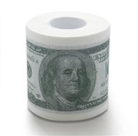 Wholesale HDE Novelty USD Dollar Bill Funny Money Currency Toilet Tissue Paper Roll Funny Money Currency Toilet Tissue Paper Roll