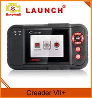 Wholesale Original Launch Tech Creader VII OBD II code Reader Scan tool auto diagnostics Suitable for OBDII standard after