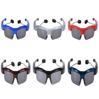Wholesale Bluetooth Glasses Earpiece Headset Call Handsfree D Surround Stereo Sound Glasses with Self timer Built in Mah Battery