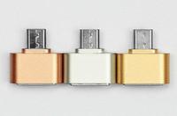 Wholesale New Arrive Mini Micro USB OTG Hug Converter Camera Tablet MP3 OTG Adapter for Microusb OTG cable