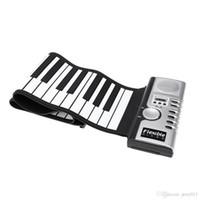 Wholesale Flexible Roll Up Electronic Soft Keyboard Piano Portable Keys