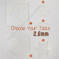 best iron board - PegBoards for mm Perler Hama Fused iron melty kids craft Beads style Clear best crafts Peg board toys