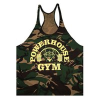 camouflage tank top - New Arrival Golds Gym Clothing Bodybuilding Tank Top Gym Shark Camouflage Letter Printed Sleeveless Fitness Men Stylish Gymshark