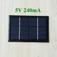 Wholesale 50pcs Epoxy Resin Small Solar Panel V mA mm