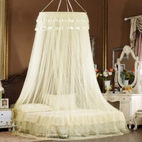 Wholesale Ceiling nets encryption dome meters m2 princess bed curtain single door wnsgpzshg