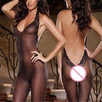 adult halloween costumes - Flirt Products Adult Games Women s open crotch Costume Sexy Lingerie Bodysuit Costume Sexy Fishnet Babydoll Sex Erotic Chemises