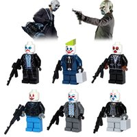 ak case - DC Super Heroes Different Version Joker Minifigures Building Block Toys AK Gun Bank Case Weapons Model Bricks Pogo PG80