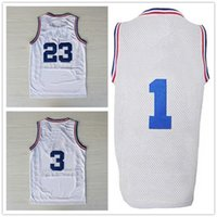 al stars - Retro MJ AL TMC All Star Jersey Top Quality Stitched Logos All Star Throwback Basketball Jersey White